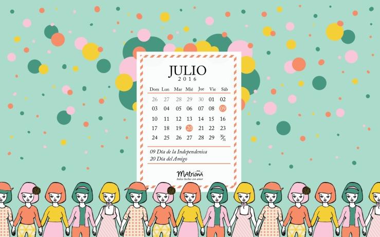 Julio 2016 - PC