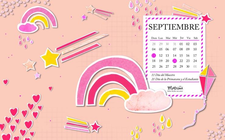Calendario para PC 09.2016